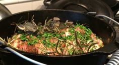 Dutch Oven Moose Roast - Slow Cooked in the Oven