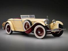 1928 Mercedes Benz 680 (Saoutchik) Torpedo Roadster