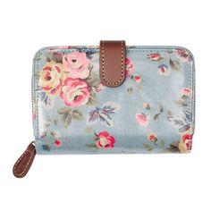 Westbourne Rose Folded Zip Wallet // £28 // www.cathkidston.co.uk