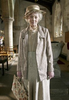 BBC's MASTERPIECE MYSTERY series of MISS MARPLE were well done - great sets & costumes. Occasionally the plots were altered a bit, but the 2 actresses who played her did a wonderful job (they each put their own spin on her) Here, Geraldine McEwan (born 1932) does her sleuthing in a sweet, spunky way