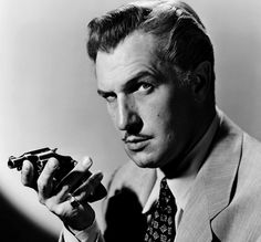 Vincent Price. One of my all time favorite actors. He managed to frighten you but had a way of drawing you back in. Hollywood Legend.