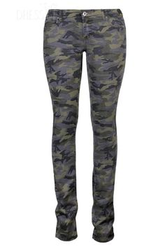Fabulous Hot Selling Camouflage Slim Long Pants