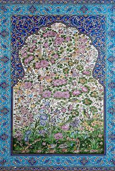 Buy traditional persian ceramic tiles in isfahan iran by travelphotography on PhotoDune. traditional persian ceramic tiles in isfahan iran Islamic Tiles, Islamic Art, Persian Carpet, Persian Rug, Picture Borders, Teheran, Middle Eastern Art, Turkish Art, Turkish Tiles