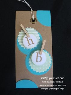 """In the Bag"" February 2014 Paper Pumpkin Kit ideas with video tutorial… Stampin' Up!® - Stamp Your Art Out! www.stampyourartout.com"