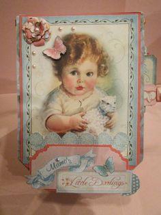 Scrapbooking To Do: #Graphic45 #LittleDarling's Fan Photo Album