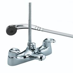 Bristan Colonial Bath Shower Mixer Chrome K BSM C View The Full Range Of Taps Available From Trading Depot By Clicking Here Tr