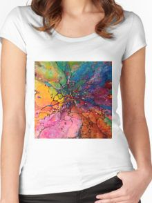Jeweled Ascent Women's Fitted Scoop T-Shirt