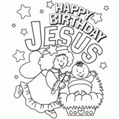 Happy Birthday Jesus Clip Art Christmas ArtChristmas Crafts For KidsChristmas Coloring SheetsChristmas HolidaysMerry