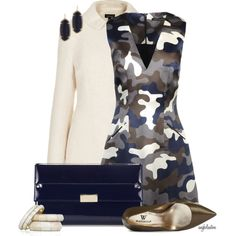 """Dressy Camo"" by angkclaxton on Polyvore"