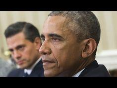El Presidente Obama se Enoja con EPN  por visita de Donald Trump a mexico!