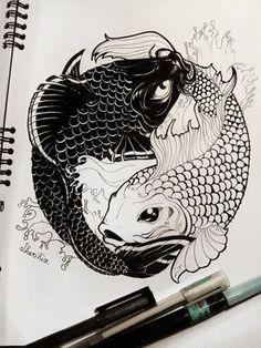 ZODIAC SIGNS - Pisces feat. Taijitu by ShariKia.deviantart.com on @DeviantArt