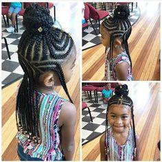 Little Girls Rocking Fulani Inspired Braid Styles + Tutorial Black kids hairstyles: 11 Little Girls Rocking Fulani Inspired Braid Styl.Black kids hairstyles: 11 Little Girls Rocking Fulani Inspired Braid Styl. Black Kids Hairstyles, Natural Hairstyles For Kids, Baby Girl Hairstyles, Kids Braided Hairstyles, Natural Hair Styles, Teenage Hairstyles, Holiday Hairstyles, Prom Hairstyles, Ponytail Hairstyles