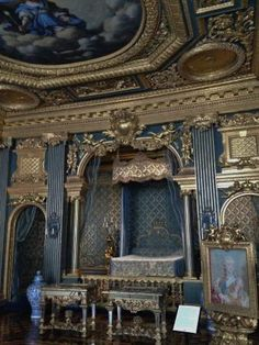 Drottningholm Palace Interior | Drottningholm Palace: Interior Do Palácio