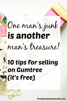 If you want to earn some extra cash quickly to pay off debt, pay for a holiday or anything you desire - sell your items on Gumtree - it's a FREE selling site so you won't incur fees like eBay. It's super simple - check out this step-by-step guide to help you and start earning extra money today! http://www.frompenniestopounds.com/how-to-sell-on-gumtree/