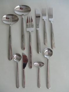 Coolest silverware set ever!!   Richard Meier SWID Powell