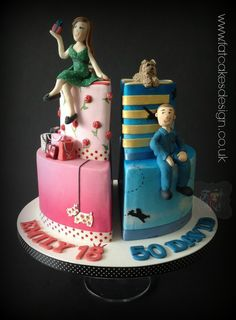 1000 Images About Split Cakes For Joint Celebrations On