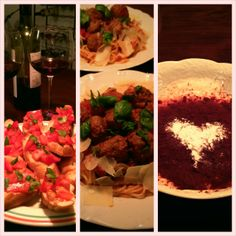 Italiaans liefdesmenu'tje speciaal om voor je Valentijn te koken
