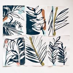 Palm studies  #art #artwork #artofvisuals #artcollective #pattern #natureinspired #contemporaryart #beauty #drawing #ideas #flora #creative #inspiration #instaart #abstractart #sketch #illustration #design #watercolor