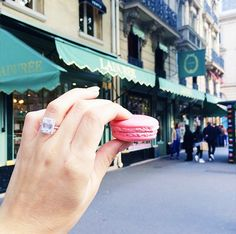 Instagram Opportunity: Macarons from Ladurée // Photogenic Spots in Paris
