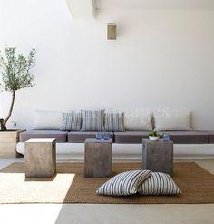 » Διακόσμηση: Κήπος-Μπαλκόνι …Χτιστά καθιστικά
