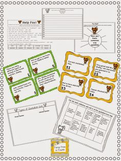 What Does a Fox Say? Quotation and Punctuation Practice: 5 Anchor Posters, 3 practice activities great for partner or individual work, 24 task cards to use in centers and a Writing with Dialogue Craftivity Fancy Free in Punctuation Quotation Marks, Dialogue Writing, Common Core Curriculum, 3rd Grade Math, Teacher Hacks, Read Aloud, Task Cards, Anchor Charts, Grammar