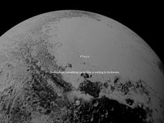 """The Solar System + Pluto """" Someday death will take us to another star """""""