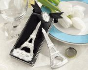 """La Tour Eiffel"" Chrome Bottle Opener #wedding #theme #Gift  bridalshowerfavors.com"