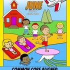 Color by Code : Math - JUNE -1st Grade - Common Core Aligned   With these puzzles your students will enjoy Math at the same time they practice addi...