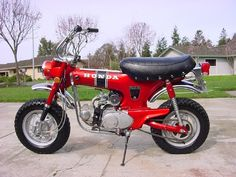 Painstakingly restored one of these with my Dad. Sold it to buy my first Dirt Bike, oh how I wish it would come back.