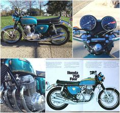 Cb Vintage Honda Motorcycles, Cars And Motorcycles, Motorcycle Posters, Japanese Motorcycle, Honda Cb750, Easy Rider, Vintage Bikes, Rockers, Vintage Japanese