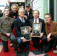 America (The Band) gets their Hollywood Star, B.M. (Before ...