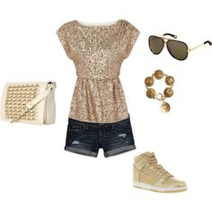 Other than the shoes, I think this is such a cute summer going out outfit.