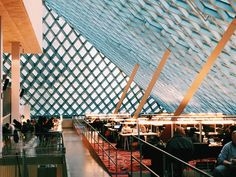 SEATTLE CENTRAL PUBLIC LIBRARY [ DOWNTOWN SEATTLE ] Seattle Central Library, Truss Structure, Seattle Photography, Downtown Seattle, Instagram Worthy, Photo Location, Explore, Architecture, City