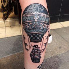 1 Idées de tatouage pour Montgolfière - Tattoo LifeStyle
