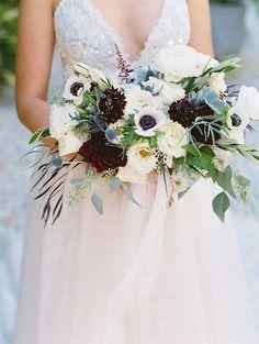 A Modern Boho Wedding at Parker Palm Springs | Bridesmaids' Dresses: @jennyyoo florist : @stellabloom805 Rentals: @signatureparty Photography: @modernromance photobooth: @photoboothideas Coordinator : @labohemeevents | #floraldesign #weddingbouquet #weddingflowers #bridalbouquet