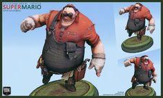 [FIGHTER] Super Smash Bros. - Mario - JFletcher - Polycount Forum