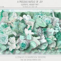 "This wonderful new, sweet and precious Mega Kit and Collection ""A Precious Bundle Of Joy is available in two colors.   http://www.digiscrapbooking.ch/shop/index.php?main_page=index&manufacturers_id=131&zenid=505e549644797992fb6f20f38872706b  http://digital-crea.fr/shop/?main_page=index&manufacturers_id=177  http://www.godigitalscrapbooking.com/shop/index.php?main_page=index&manufacturers_id=123"
