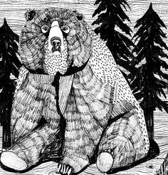 Bear, grrr.