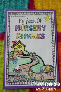 student book of 10 nursery rhymes - lots of activities included in this Nursery Rhyme Bundle