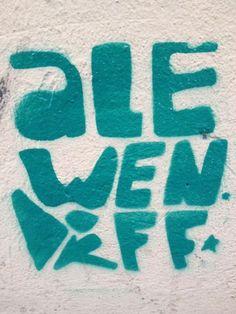 Graffiti in Lima, Peru via @Sarah Fairhurst