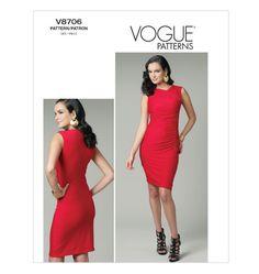 V8706, Misses' Dress  must have