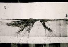 "Saatchi Art Artist Michael Lentz; Drawing, ""Paisaje Ideal No. 147 (100 x 70 cm)"" #art"