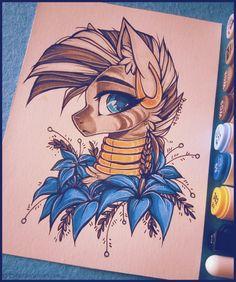 Zecora by D-Dyee.deviantart.com on @DeviantArt