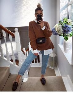 40 Classy Fashion Fall Outfits With Your Street Styles ; Source by yessicazat outfits classy : 40 Classy Fashion Fall Outfits With Your Street Styles ; Source by yessicazat outfits classy Winter Fashion Outfits, Fall Winter Outfits, Autumn Fashion, Casual Winter, Spring Fashion, Winter Ootd, Casual Summer, Fashion Boots, Sneakers Fashion