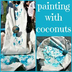 Painting with Coconuts: Process Art Activities for Preschoolers