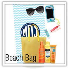"""Beach Bag""  monogrammed beach towel  #monogram  #monogrammedbeachtowel"