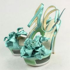 eace26fab5 sandalia alta color azul turquesa Heeled Flip Flops, Flip Flop Sandals,  Color Azul,