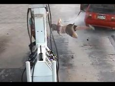 This Woman Is Trying To Steal Gas When Suddenly Something Terrible Happens - Trendzified
