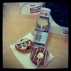 A krispy kreme breakfast #LottaLatte   Instagram love from drac7308