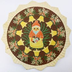 Es weihnachtet sehr! Dies ist ein weiterer Weihnachtsteller aus Pappe unserer Sammlung. Auf diesem legte man Süßigkeiten oder Nüsse ab. // It is Christmastime! This is another paper plate from our collection. It was used for displaying sweets and nuts. /mg  #ddrmuseum #ddr #christmas #christmastime #paper #illustration #design #vintage #instamuseum #collection #myCollection14  (hier: DDR Museum)